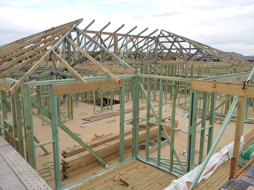 Timber Framed Building : Perth timber frame construction peakebuild