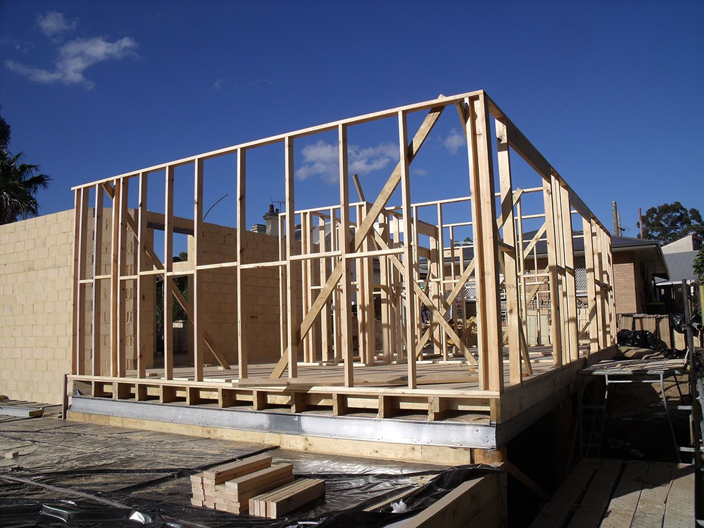 Perth timber frame construction peakebuild for How to build a timber frame house