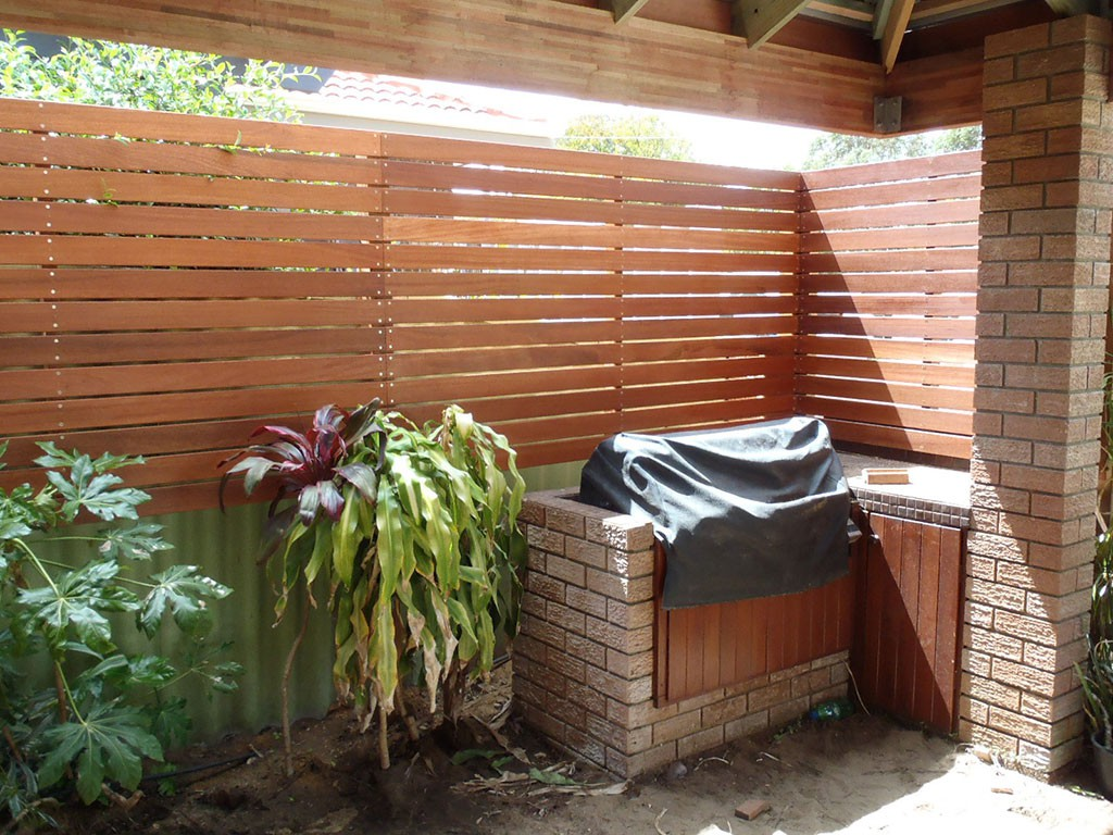 Perth Timber Screen Fencing Peakebuild